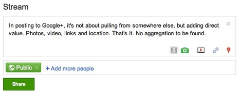 Aggregation Is Invisible In Google+. Thank Goodness. Louis Gray   The Google+ Project   Scoop.it