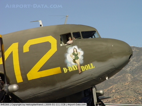 D-Day Doll nose art - Airport-Data.com | WW2 Bomber - Nose Art | Scoop.it
