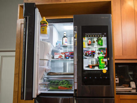 Samsung's $6,000 smart refrigerator: a fridge too far? | Smart Home News and Trends | Scoop.it