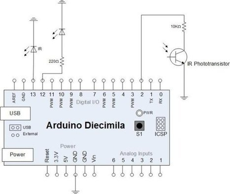 Arduino-Based Optical Tachometer - | Arduino, Netduino, Rasperry Pi! | Scoop.it