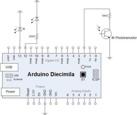 Arduino-Based Optical Tachometer - | Arduino, Netduino, Rasperry Pi! | Scoop.it