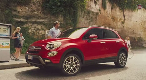 La pilule bleue : la publicité pour la Fiat 500X   Publicité - Advertising   Scoop.it