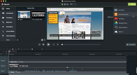 Learn to master the new Camtasia today!   Capstone: An ESRM Coda   Scoop.it