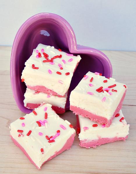 Strawberry shortcake fudge | Food | Scoop.it