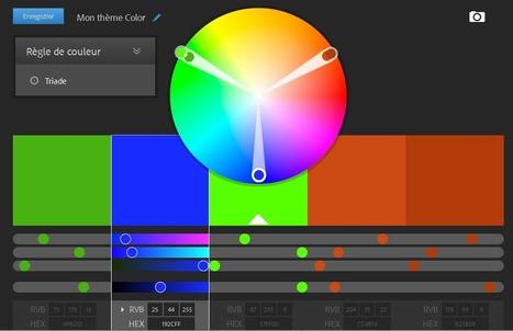 Adobe Color CC | Collection d'outils : Web 2.0, libres, gratuits et autres... | Scoop.it
