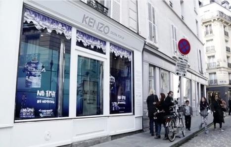 Kenzo ouvre un popup store sous forme d'aquarium numérique géant | streetmarketing | Scoop.it