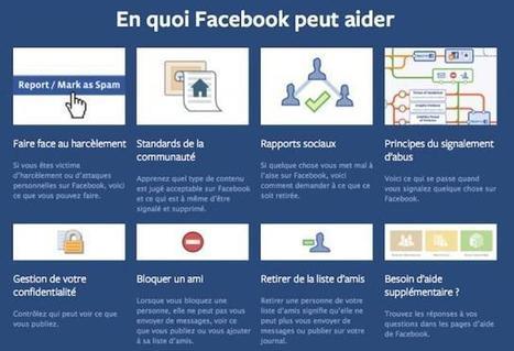 Le portail anti-harcèlement de Facebook est lancé en France   Ressources pour la Technologie au College   Scoop.it