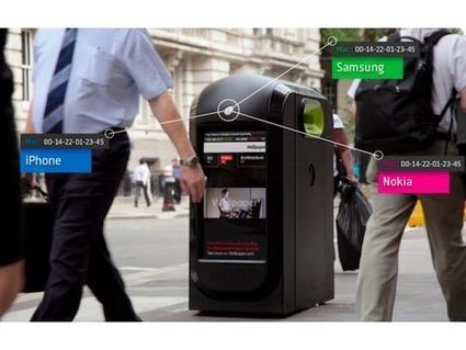 A Londres les poubelles Wi-Fi espionnaient les passants | Smart City | Scoop.it
