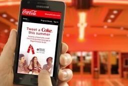 Coca-Cola Launches 'Tweet a Coke' Campaign   Mobile Marketing ...   Coca-Cola® News   Scoop.it