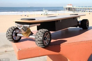 Awesome New Gadget: The Electric Skateboard | e-Expeditions | e-Expeditions News | Scoop.it
