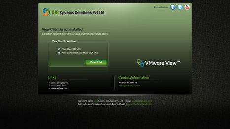 VMware View Portal Extender Portfolio | Interface Customization Services | Scoop.it