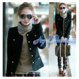 Jual jaket dengan warna yang simple koleksi terbaru. | trend fashion 2013 | Scoop.it