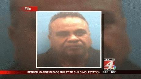 Retired Marine sentenced in child molestation case - WOAI | Atabrine James Simmons; Enigma of Mankind. | Scoop.it