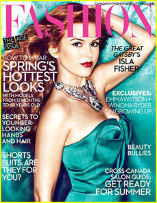 Isla Fisher Covers 'Fashion' May 2013 - Just Jared | TAFT: Trends And Fashion Timeline | Scoop.it