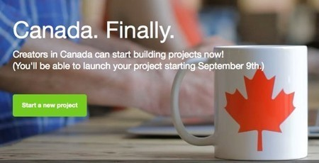 Kickstarter open to Canada on September 9 | Joystiq | Govt News | Scoop.it