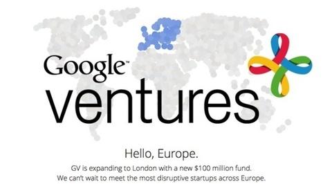 Google Ventures llega a Europa con 100 millones de dólares listos para invertir | Actualidad Socioeconómica: EPA, Paro, IPC, Desempleo, Afiliaciones SS, Turismo | Scoop.it