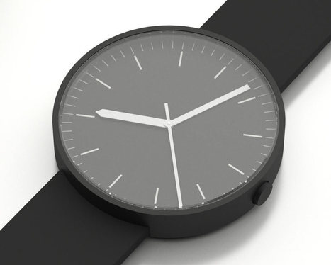A Closer Look at The Uniform Wares 100 Series Watch - Design Milk   develop, research, design, create   Scoop.it