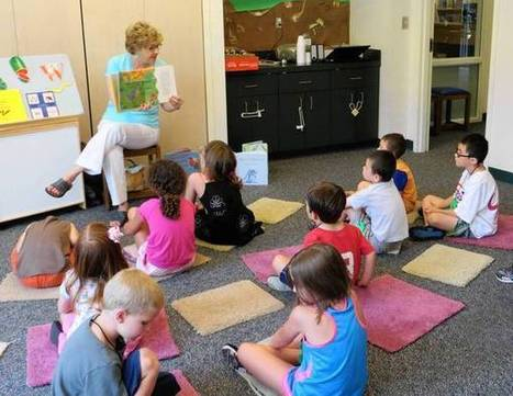 Longtime children's librarian shares magic of reading - Daily Press | Children's Libraries | Scoop.it