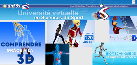Université Virtuelle en Sciences du Sport (#UV2S) et ses ressources 3D et ...  #JNSS2015 | educación física y deporte | Scoop.it