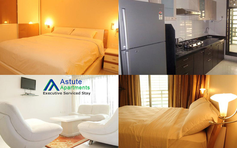 Exclusive Lavish Furnished 2BHK Flats on Rent for Corporate Peoples at NaviMumbai | Astute Apartments | Scoop.it