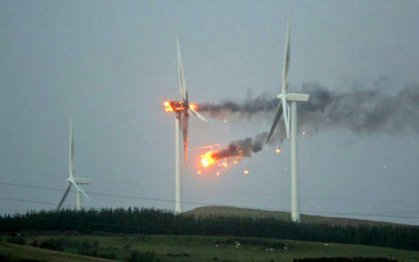 Wind turbine fires 'ten times more common than thought', experts warn - Telegraph | OHS and Enviromental Science | Scoop.it