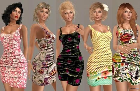 Flirt 03 Dress MIMI's Choice Group Gift by AlaFolie | Teleport Hub - Second Life Freebies | Second Life Freebies | Scoop.it
