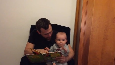 How Reading to Your Baby is as Important as Feeding & Sleeping - The Dad Network | Healthy Marriage Links and Clips | Scoop.it