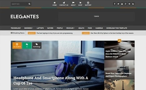 ELEGANTES | Blogger themes | Scoop.it