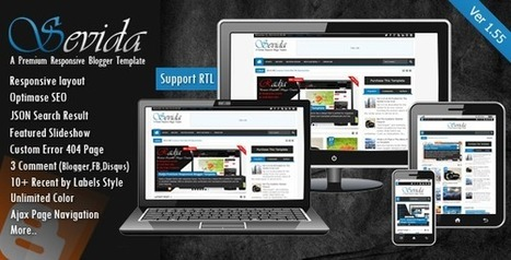 MKRflat - Responsive Magazine/News Blogger Theme (Blogger) Nulled - All Themes Nulled | Blogger themes | Scoop.it