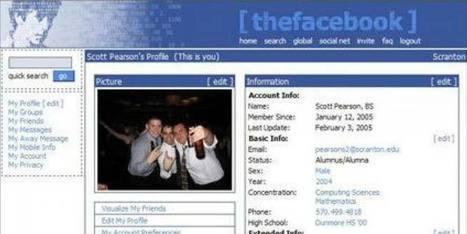 L'évolution de Facebook de 2004 à 2014 en 40 images | Commerce on Web : Le commerce local et internet | Scoop.it