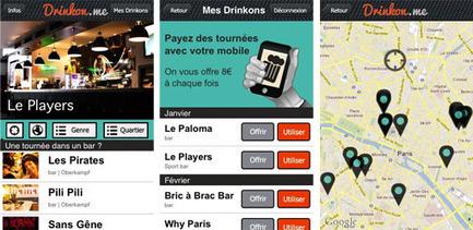 Payez vos tournées moins chers dans les bars avec Drinkon.Me | Actualité des start-ups et de l' Entrepreneuriat sur le Web | Créer sa boite et la développer | Scoop.it