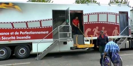 Stages de sécurité incendie pour personnes handicapées | sûreté-sécurité | Scoop.it