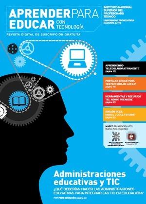 Nuevo número de la Revista Aprender para Educar con Tecnología | CPR Gijón Oriente Competencias básicas y metodología | Scoop.it