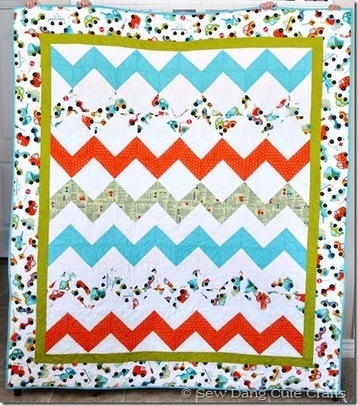 Riley Blake Designs Blog: Project Design Team Wednesday~Peak Hour Quilt | Odds and Ends | Scoop.it