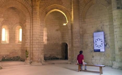 L'histoire de Fontevraud s'anime avec 8 écrans déployés sur le parcours de visite | Clic France | Scoop.it