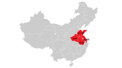 The Entire U.S. Population Fits In These 4 Chinese Provinces. So What? | Géopolitique & Cartographie | Scoop.it