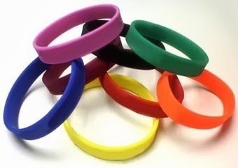 SILICONE WRISTBANDS: WRISTBANDS RUBBER BANDS | wristband leather | Scoop.it