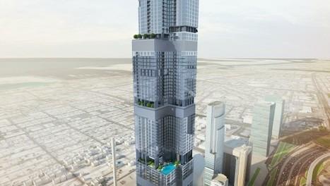 Tour Entisar à Dubaï : 5ème plus haute du monde   Construction l'Information   Scoop.it