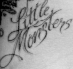 Monster Tattoo | Tattoos home desing hairstyle fashion | Scoop.it