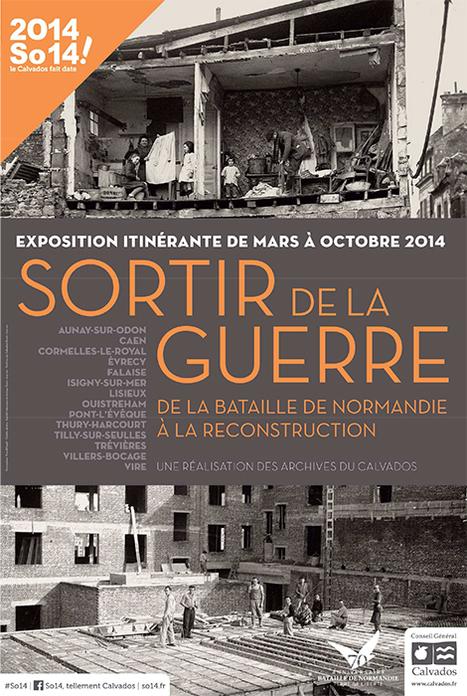 Ouistreham : expo « Sortir de la guerre » à la Maison du tourisme. | Histoire de France par ClC | Scoop.it