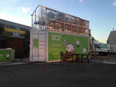 ECF: Berlin's First Aquaponic Container Farm | Aquaponics in Action | Scoop.it