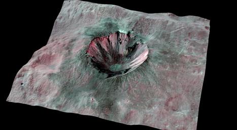 Picture This: Vesta's Dark Materials in Dawn's View - NASA Jet Propulsion Laboratory | Amateur and Citizen Science | Scoop.it