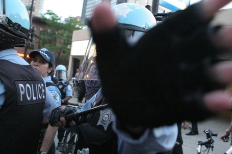 Chicago: police violence at NATO protests — in pictures | Another World Now! | Scoop.it