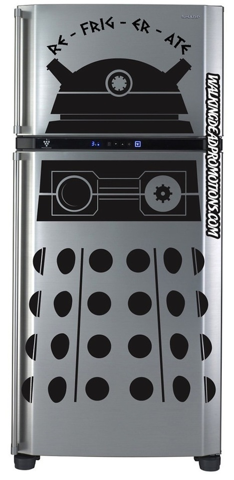 Turn Your Fridge Into a Dalek With These Decals | Geek On | Scoop.it