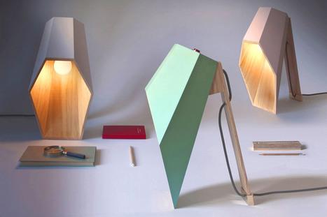 alessandro zambelli forms geometrical woodspot lamp - designboom   architecture & design magazine   MAISON : OBJET DESIGN+ART CONTEMPORAIN   Scoop.it