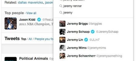 Twitter : Refonte de la partie recherche | Stratégie digitale et médias sociaux | Scoop.it