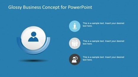 Glossy Business Concept Template for PowerPoint   PowerPoint Presentations   Scoop.it