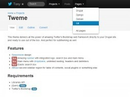Tweme – Twitter Bootstrap Theme for Drupal | Bootstrap | Scoop.it