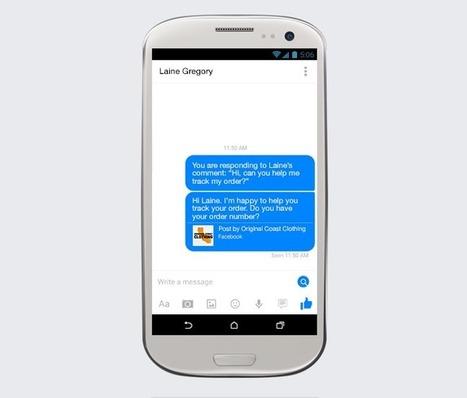 Les pages Facebook peuvent désormais répondre en privé aux commentaires | Social Media Curation par Mon-Habitat-Web.com | Scoop.it
