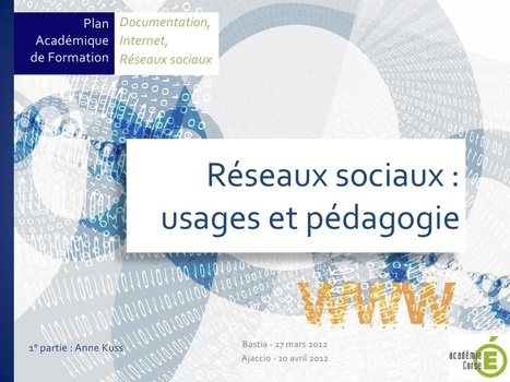 Réseaux sociaux : usages et pédagogie   La quot...   Veille informationnelle à destination de la communauté éducative et des lycéens   Scoop.it